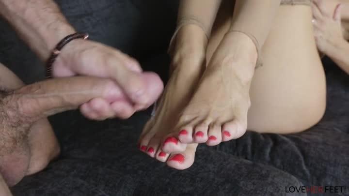 Love Her Feet – Reagan Foxx – My Stepson Has Balls